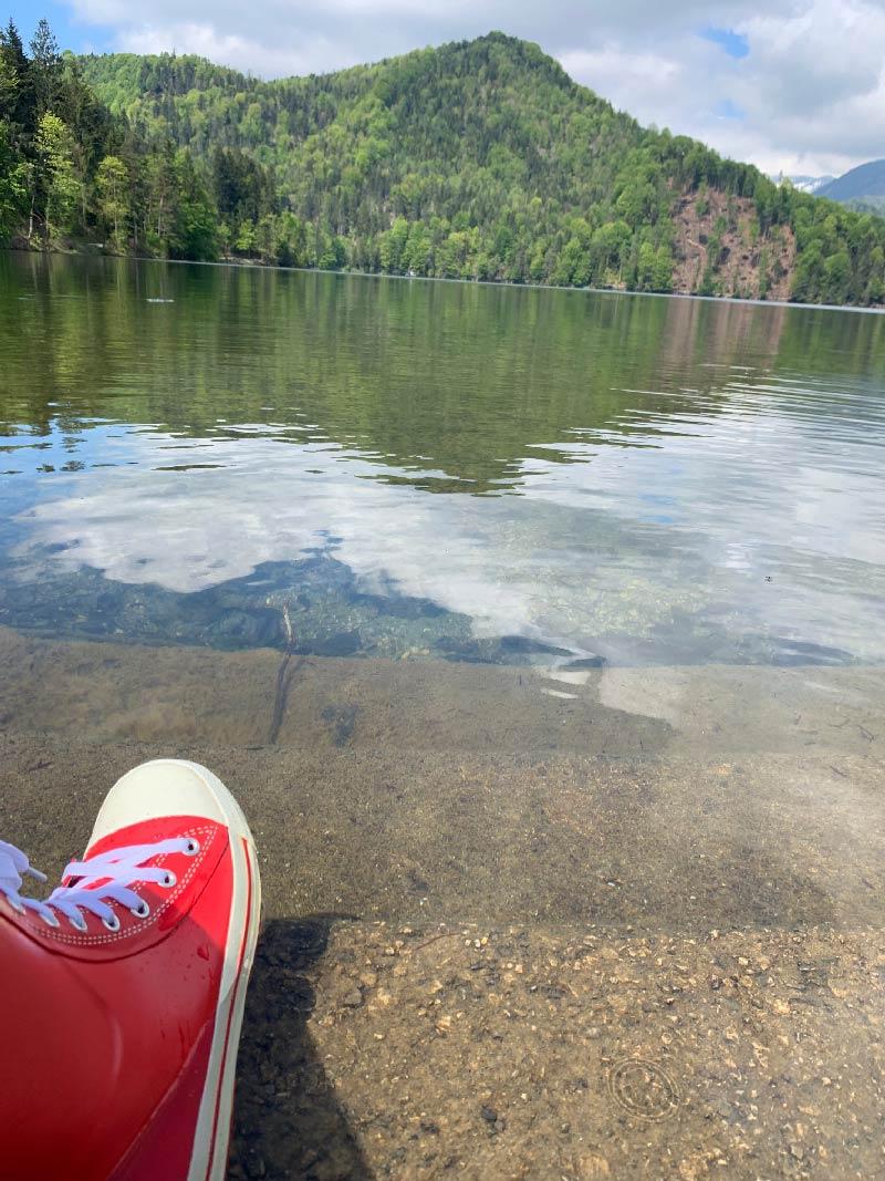 Regenwanderung am Hechtsee