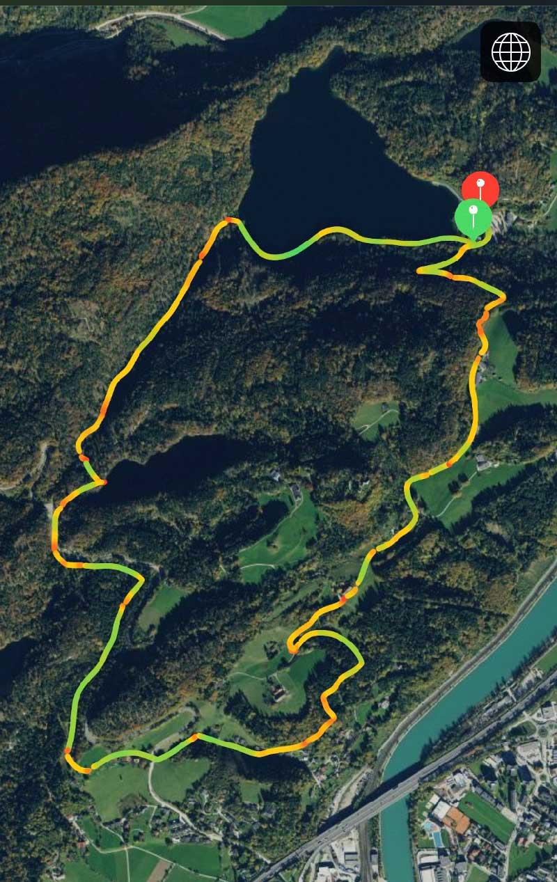 Fußweg zum Hechtsee