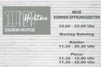 Sommer Öffnungszeiten Hechtsee Seerestaurant